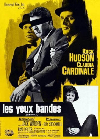 Les Yeux bandés. Blindfold. 1965. Philip Dunne. 218
