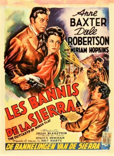 Les Bannis de la Sierra - The Outcasts of Poker Flat - 1952 - Joseph M. Newman 29090910