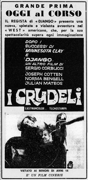 Les Cruels (I Crudeli) - 1966 - Sergio Corbucci - Page 2 2_fzov10