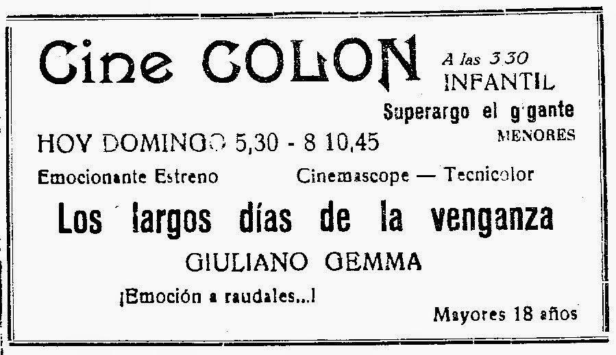 Les longs jours de la vengeance - I lunghi Giorni della Vendetta - 1966 - Florestano Vancini - Page 2 30_04_10