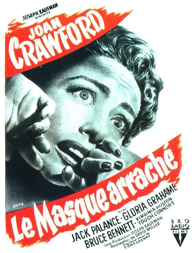 Le Masque arraché. Sudden Fear. 1952. David Miller. 3958910