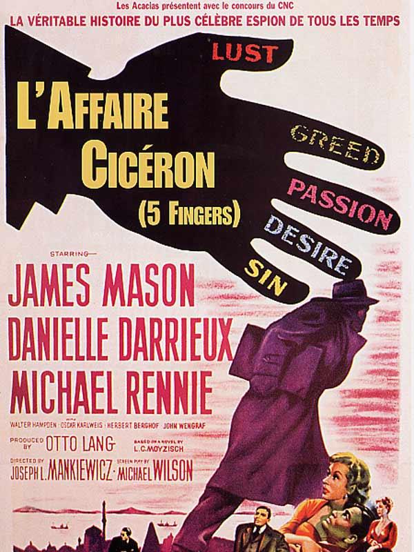 L'Affaire Cicéron. Five Fingers. 1952. Joseph L. Mankiewicz. 42127-10