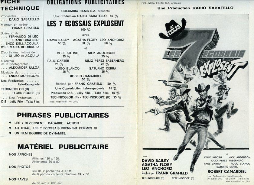 Les 7 écossais explosent - Sette donne per i McGregor - Franco Giraldi - 1966 - Page 2 49010