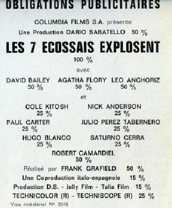 Les 7 écossais explosent - Sette donne per i McGregor - Franco Giraldi - 1966 - Page 2 4901010