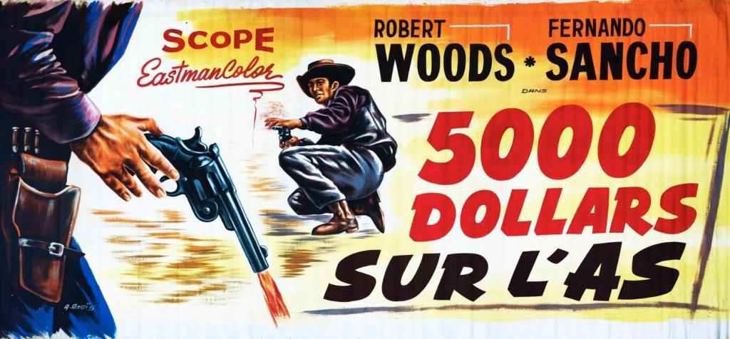 5.000 dollars sur l'as . Pistoleros de Arizona . 1964 . Alfonso Balcazar. 5000-d11