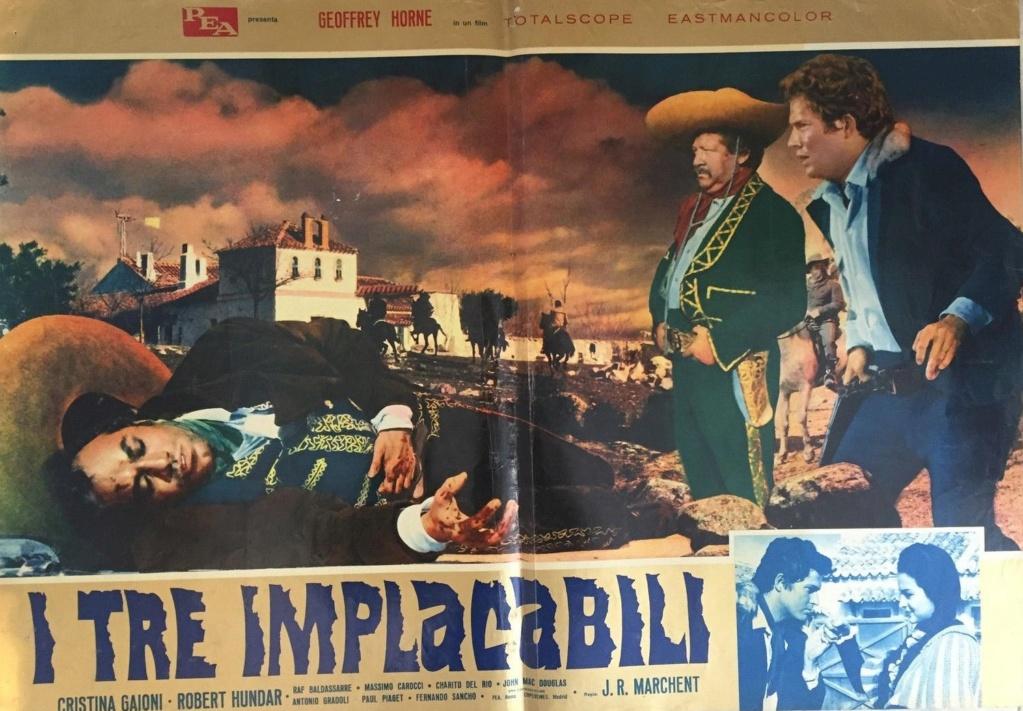 Trois cavaliers noirs . Tres Hombres Buenos . 1963. J.L. Romero Marchent. 511