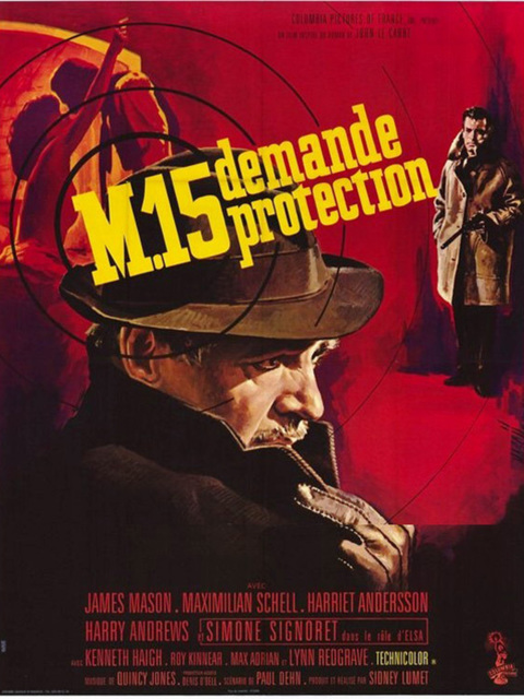 MI5 demande protection. The Deadly Affair. 1966.  Sidney Lumet. 56646_10
