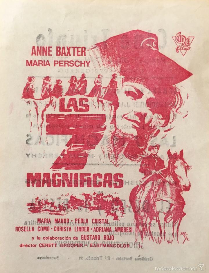 Le triomphe des 7 desperadas - Las siete magníficas - 1966 - Sidney W. Pink , Gian Franco Parolini ... - Page 2 57534610