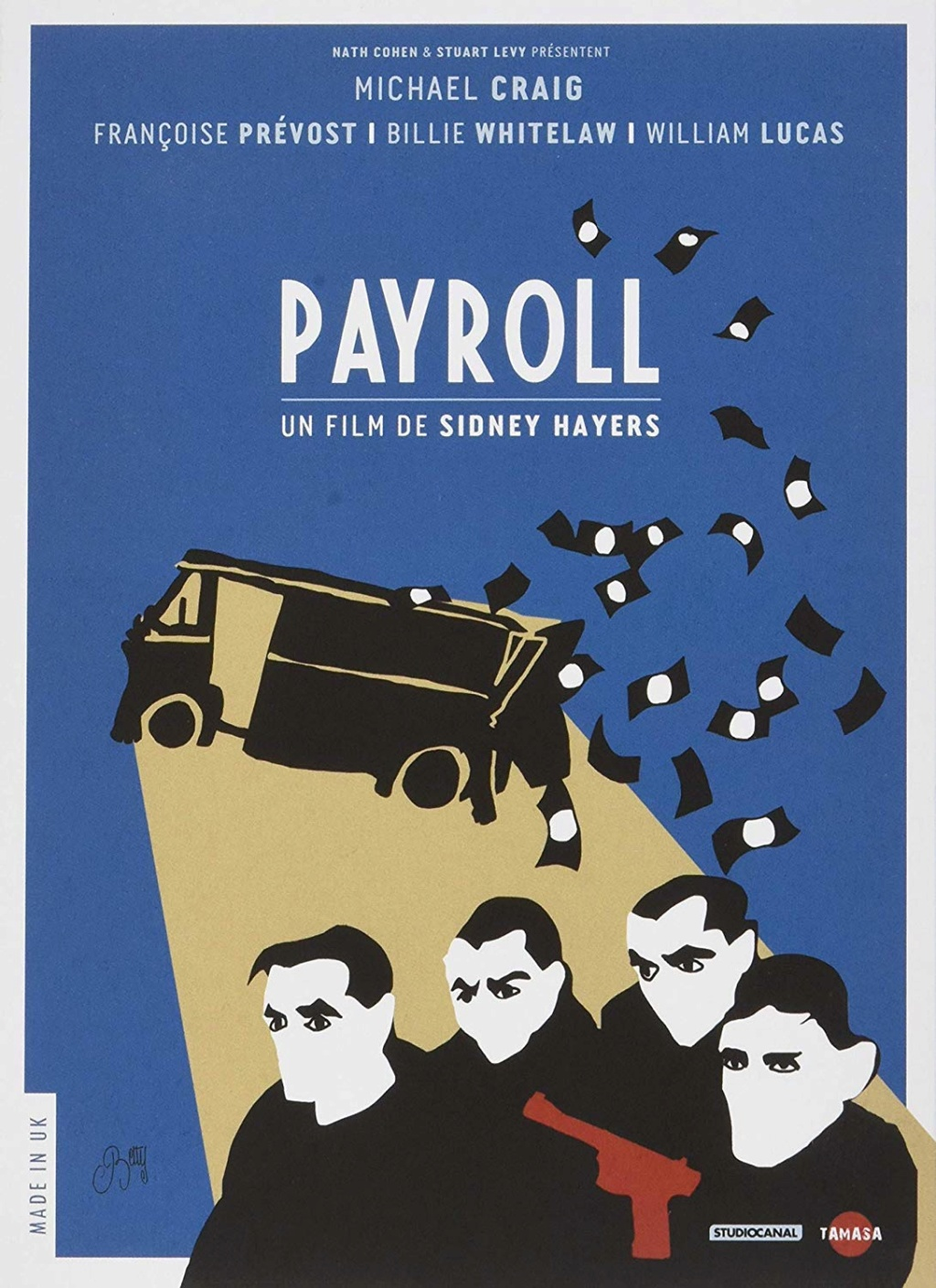 Les Gangsters. Payroll. 1961. Sidney Hayers. 81faaq10