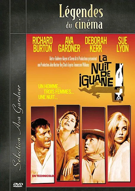 La Nuit de l'iguane. The Night of the Iguana. 1964. John Huston. 87681010