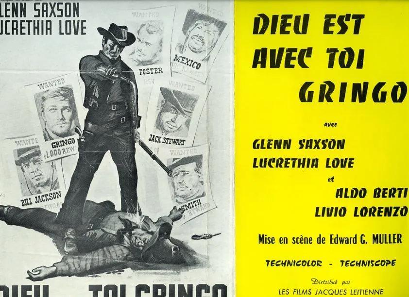 Dieu est avec toi, gringo - Vaya con Dios, Gringo - Edoardo Mulargia - 1966 94758410