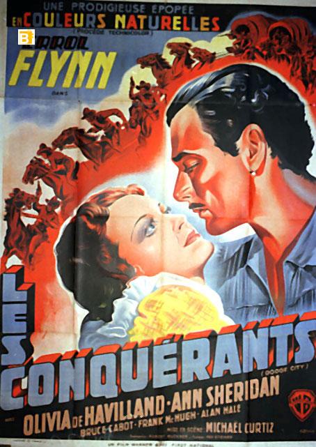 Les Conquérants. Dodge City. 1939. Michael Curtiz. 962310