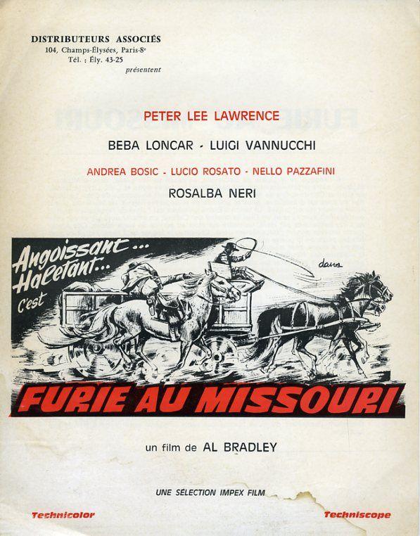 Furie au Missouri ( I Giorni della Violenza ) –1967- Alfonso BRESCIA 98294710