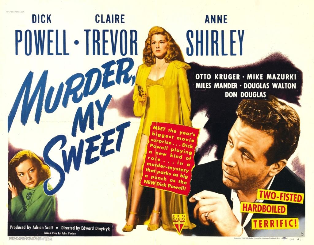 Adieu, ma belle. Murder, My Sweet. 1944. Edward Dmytryk. Adieu-10
