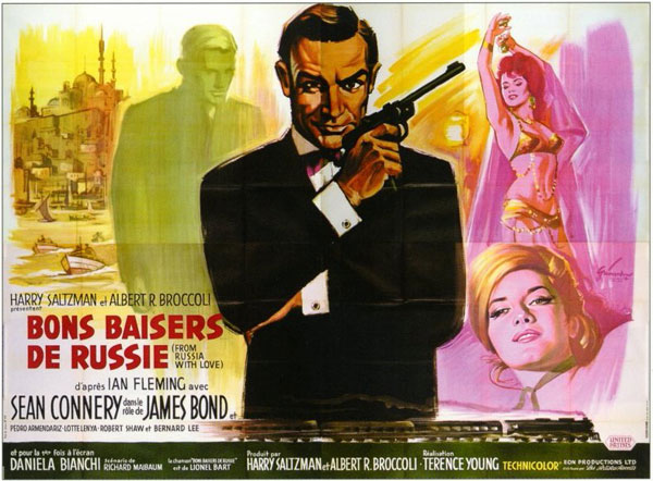 Bons Baisers de Russie - From Russia with Love - Terence Young - 1964 Affich13
