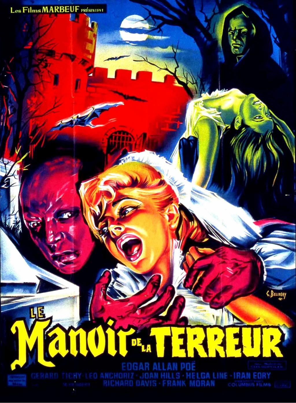 Le manoir de la terreur - 1963 -  Alberto de Martino Affich22