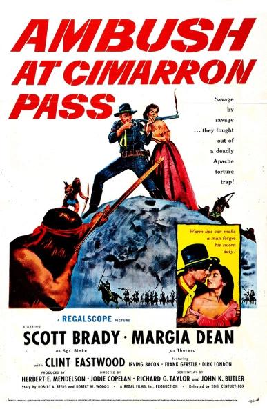 Le Cri de Guerre des Apaches - Ambush at Cimarron Pass - 1957 - Jodie Copelan Ambush10