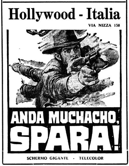 Ma dernière balle sera pour toi ( Anda Muchacho, spara ! ) -1971- Aldo FLORIO Anda-m10