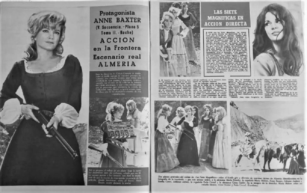 Le triomphe des 7 desperadas - Las siete magníficas - 1966 - Sidney W. Pink , Gian Franco Parolini ... - Page 2 Cine_e10