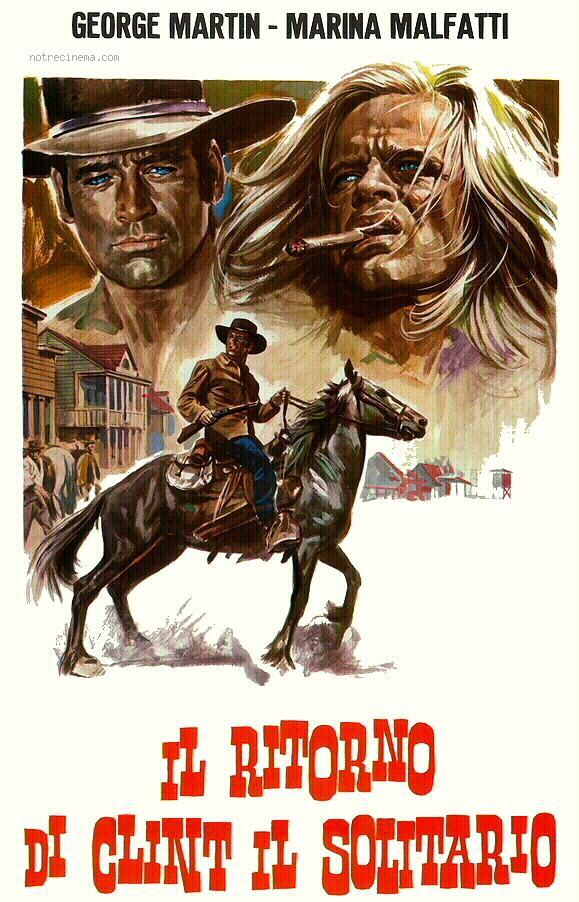 Le Retour de Clint le Solitaire - Ritorno di Clint il Solitario - Alfonso Balcazar - 1972 Clint-10