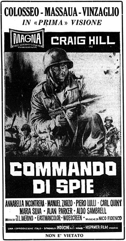 Le commando des braves-Commando di spie-Consigna:Matar al comandante jefe-José luis Merino, 1970 Comman10