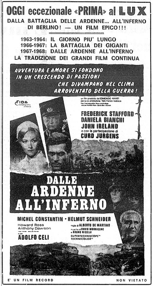 La gloire des canailles - Dalle Ardenne all'inferno - 1967 - Alberto De MARTINO Dalle-10