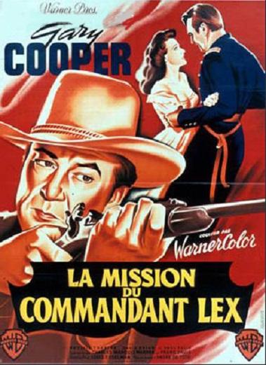 La Mission du commandant Lex. Springfield Rifle. 1952.  André De Toth. En752210