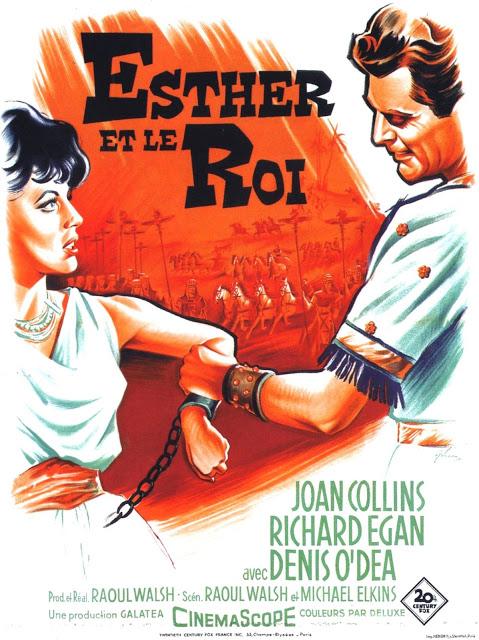 Esther et le Roi. Esther and the King. 1960.  Raoul Walsh et Mario Bava. Esther10