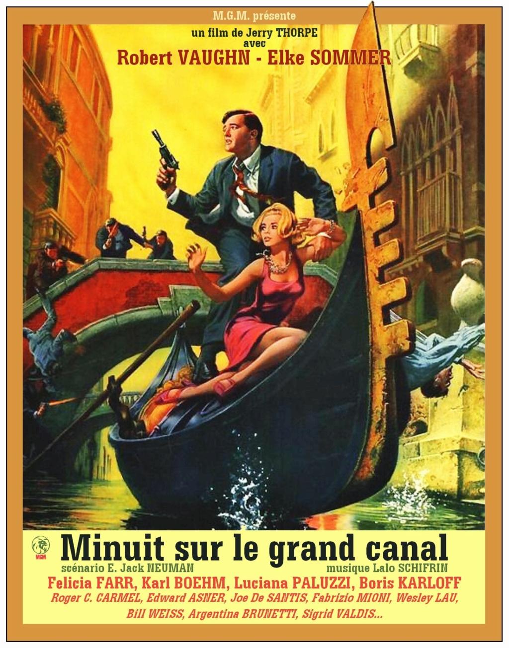 Minuit sur le Grand canal. The Venetian Affair. 1966. Jerry Thorpe.  F5041310