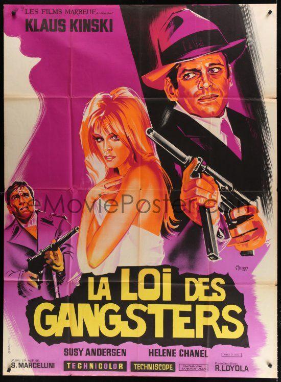 La Loi des gangsters. La legge dei gangsters. 1969. Siro Marcellini. French10