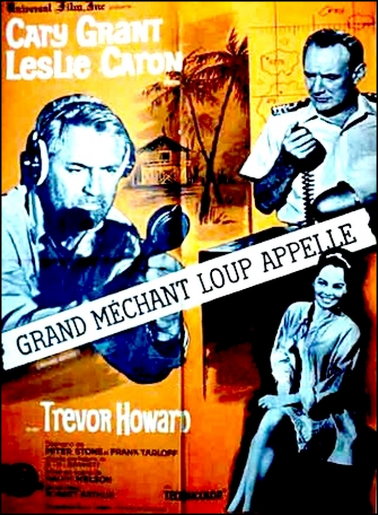 Grand Méchant Loup appelle. Father Goose. 1964. Ralph Nelson. Grand_10