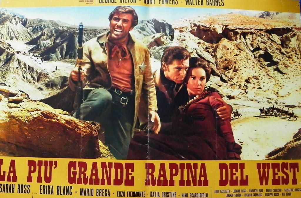 Trois salopards, une poignée d'or ( La piu grande rapina del west ) –1967- Maurizio LUCIDI H8-fot10