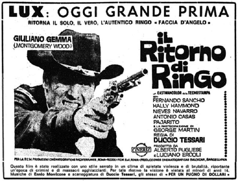 Le retour de Ringo - Il ritorno di Ringo - 1965 - Duccio Tessari - Page 2 Il-rit10