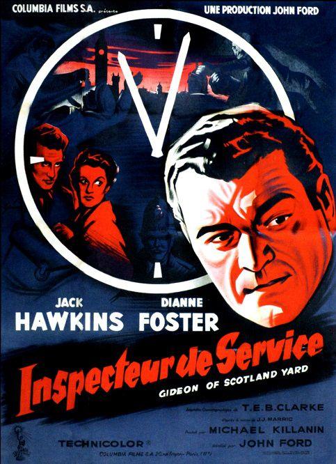 Inspecteur de service. Gideon's Day. 1958. John Ford. Inspec10