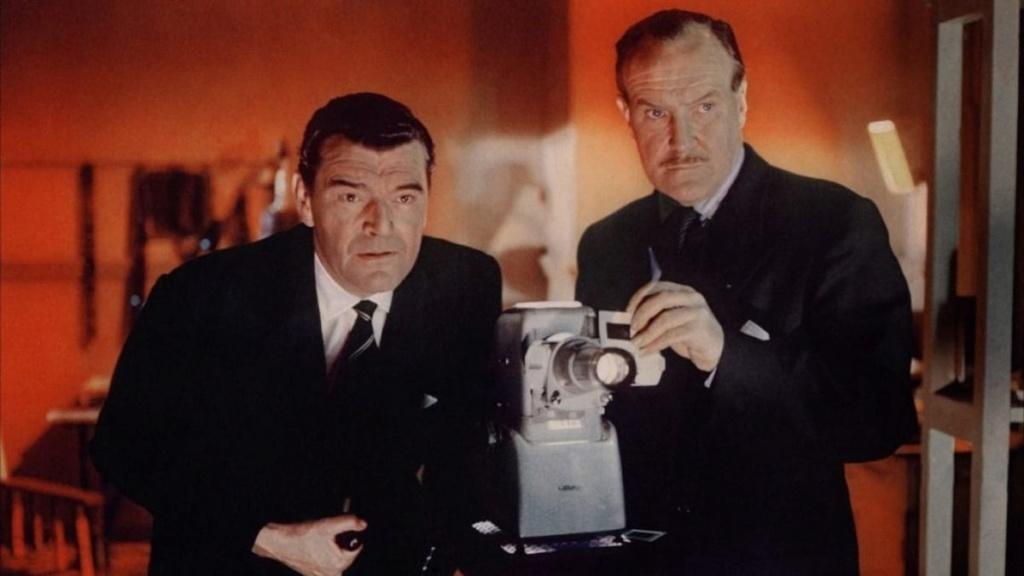 Inspecteur de service. Gideon's Day. 1958. John Ford. Inspec11