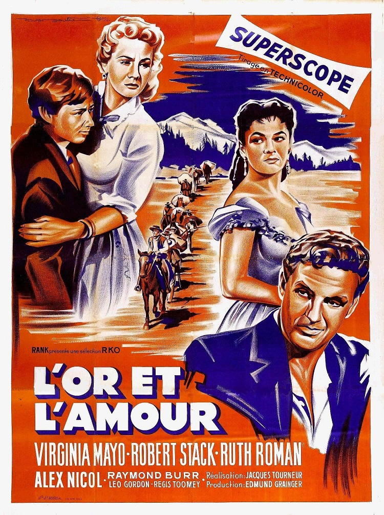 L'Or et l'Amour. Great Day in the Morning. 1956. Jacques Tourneur. L_or_e11