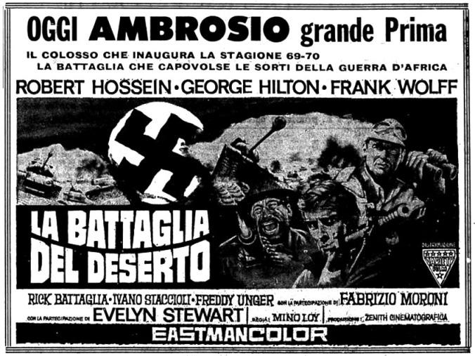 7 Hommes pour Tobrouk - La Battaglia del deserto - 1969 - Mino Loy La-bat14