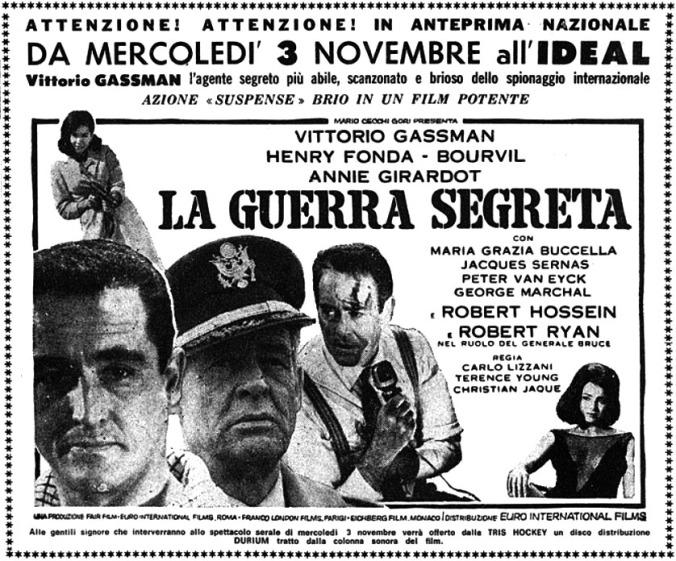 Guerre secrète- The Dirty Game- 1965-Christian Jaque/ W Klinger/ C Lizzani / T Young La-gue10