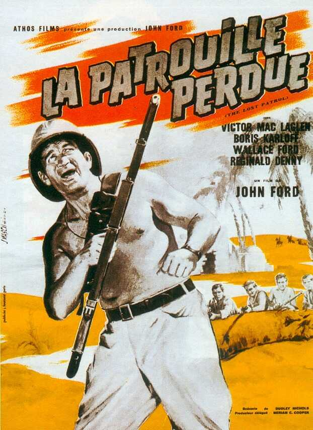 La Patrouille perdue. The Lost Patrol. 1934. John Ford. La-pat10