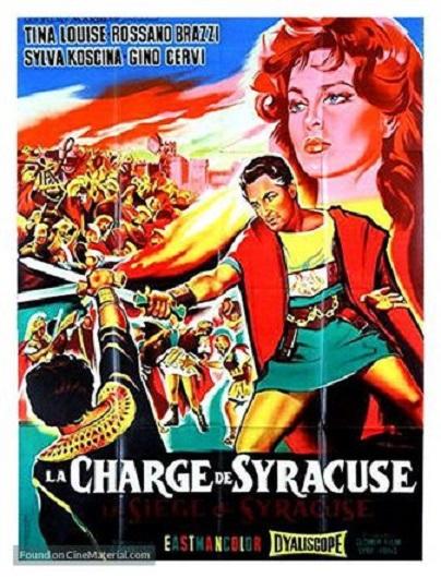 La Charge de Syracuse. L'assedio di Siracusa. 1960. Pietro Francisci. La_cha10