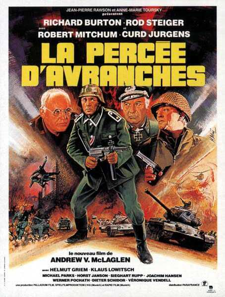 La Percée d'Avranches - Steiner Das Eiserne Kreuz, 2. Teil - 1979 - Andrew V. McLaglen La_per10