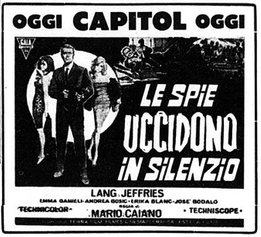 Ombres sur le Liban-Le Spie uccidono in silenzio-LOS ESPÍAS MATAN EN SILENCIO-Mario Caiano , 1966  Le-spi10