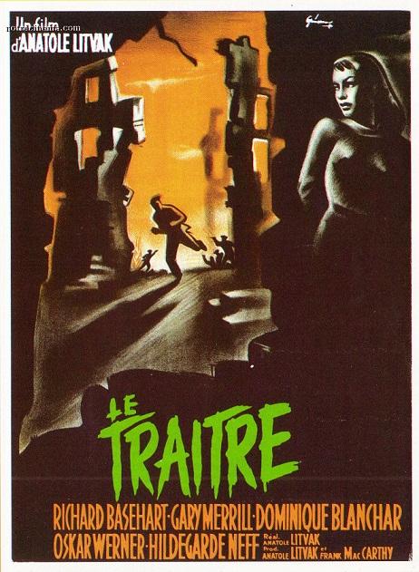 Le Traître. Decision before Dawn. 1951. Anatole Litvak. Le-tra10