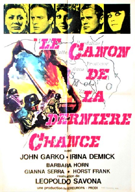 Le Canon de la dernière chance. La porta del cannone. 1969. Leopoldo Savona. Le_can10