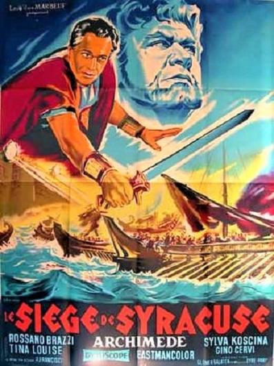 La Charge de Syracuse. L'assedio di Siracusa. 1960. Pietro Francisci. Le_siz10