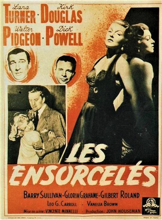 Les Ensorcelés.  The Bad and the Beautiful . 1952. Vincente Minnelli. Les-en10