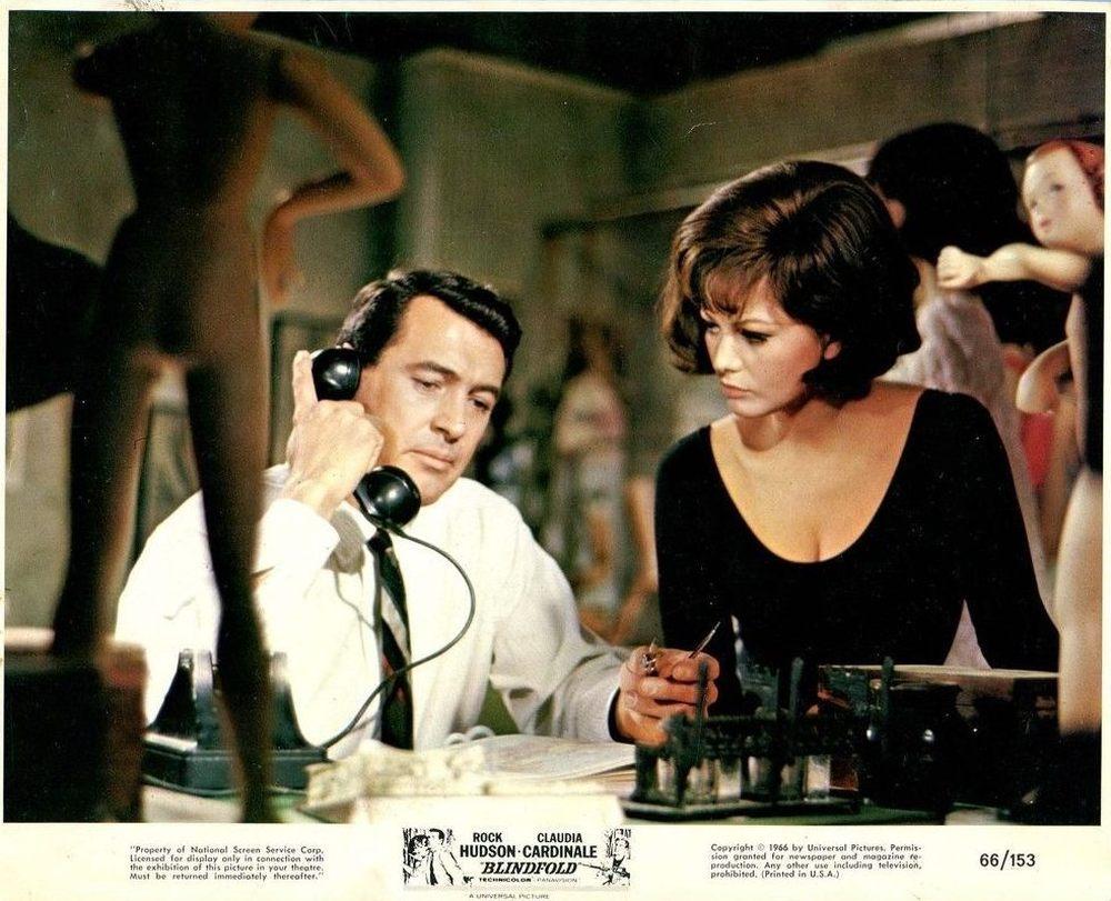 Les Yeux bandés. Blindfold. 1965. Philip Dunne. Les-ye10