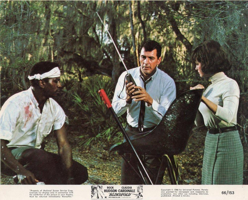 Les Yeux bandés. Blindfold. 1965. Philip Dunne. Les-ye12