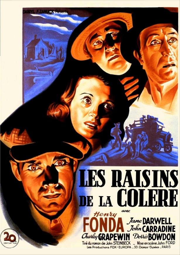 Les Raisins de la colère. The Grapes of Wrath. 1940. John Ford. Les_ra11