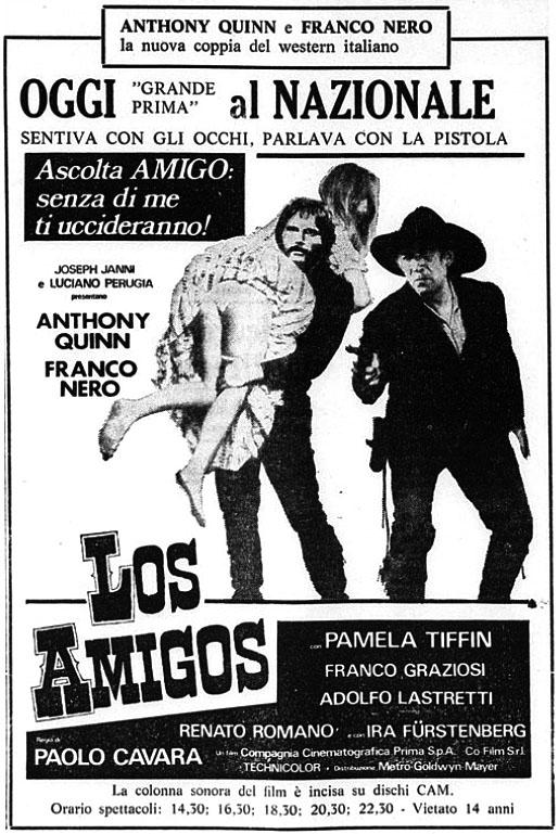 Los Amigos- 1973- Paolo Cavara. Los-am10